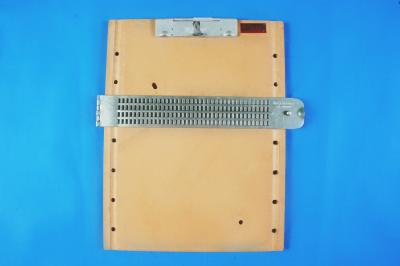4 Line 37Cells Braille Slate With Clip Board