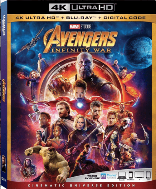 Avengers Infinity War Web Dl : avengers, infinity, Avengers:, Infinity, Ultra, 2160p, Movies,, Download