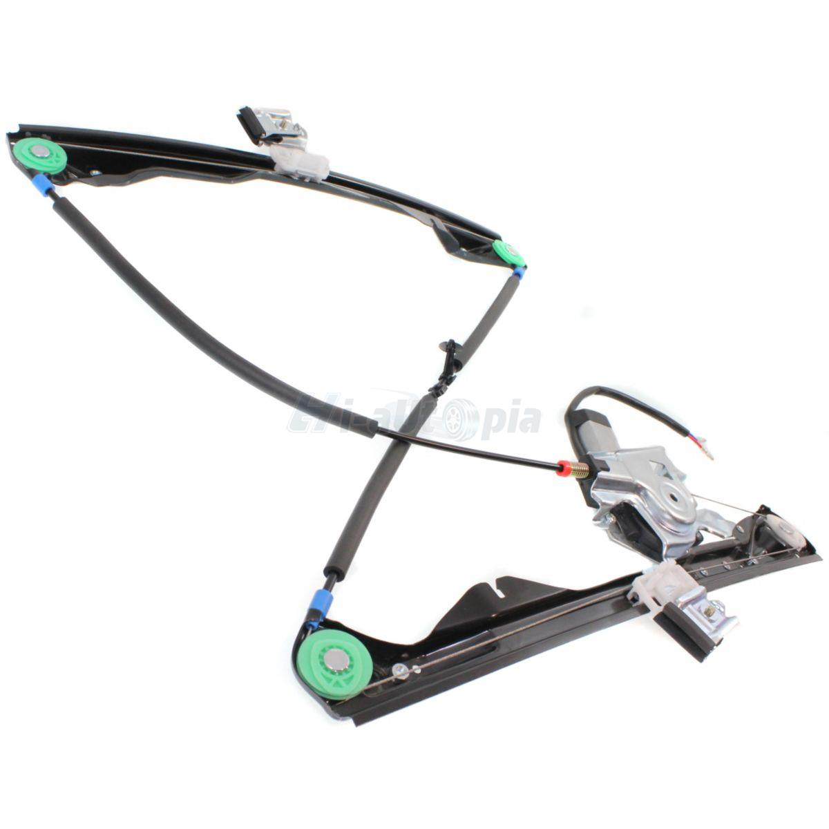 Power Window Regulator With Motor Front Left Driver Side