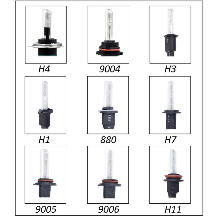 55W HID Xenon Headlight Conversion KIT Bulbs H1 H3 H4 H7