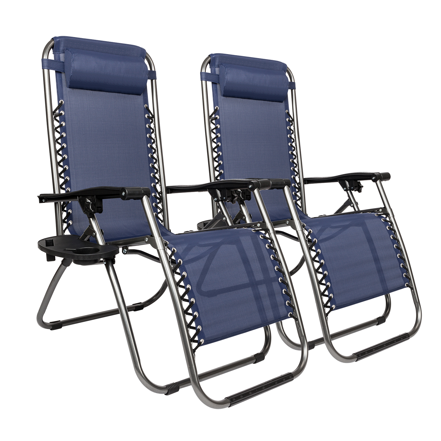 Folding Lounge Chair Details About Set Of 2 Zero Gravity Chairs Folding Lounge Patio Outdoor Recliner Beach Chair