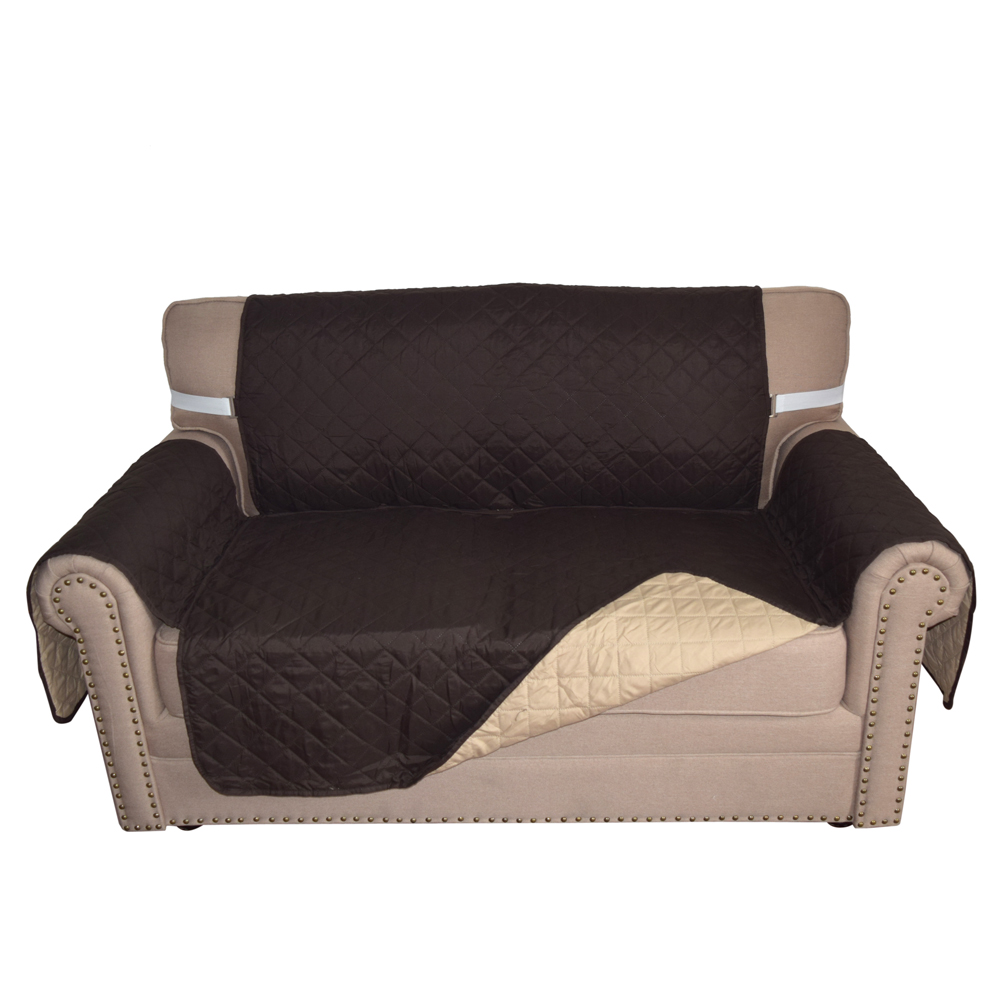 quilted microsuede sofa cover wood furniture plans microfiber chair throw pet dog home protector