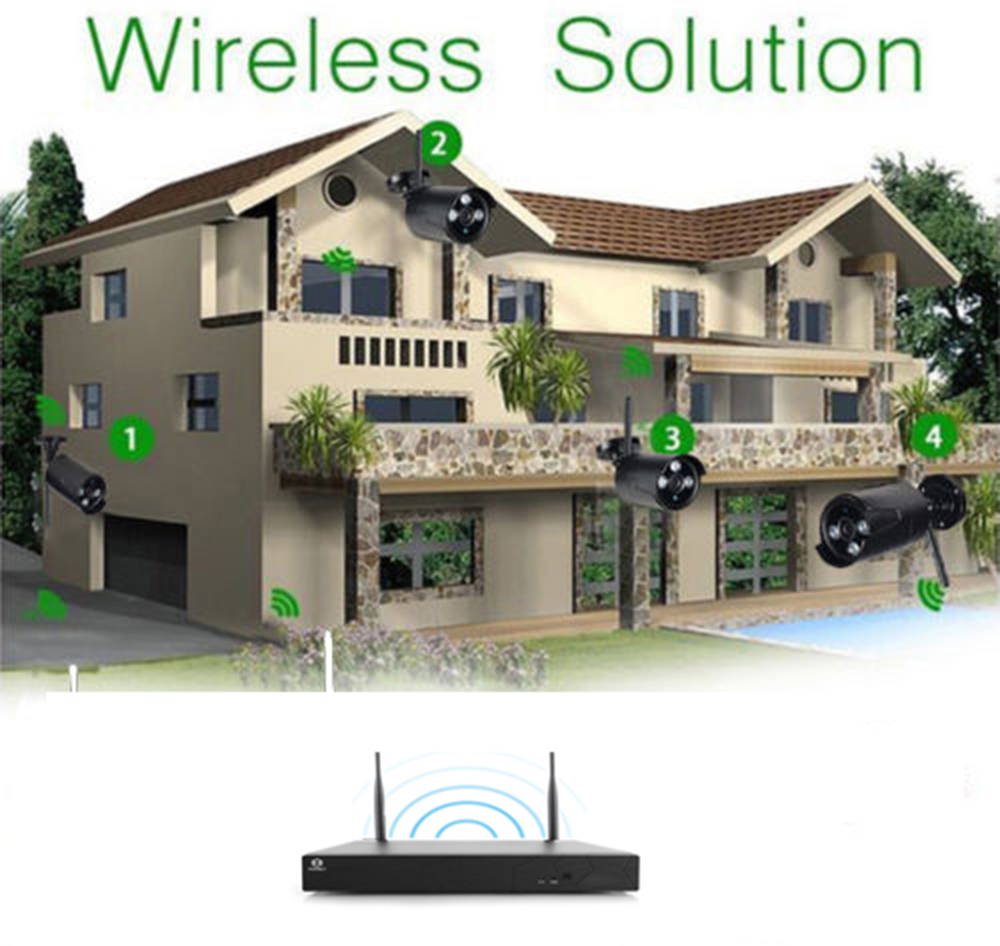 hight resolution of 8ch wireless nvr outdoor waterproof wifi ir cut network camera security system