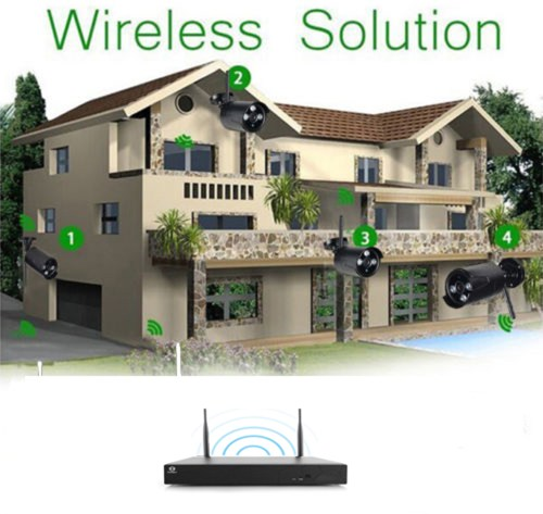 small resolution of 8ch wireless nvr outdoor waterproof wifi ir cut network camera security system