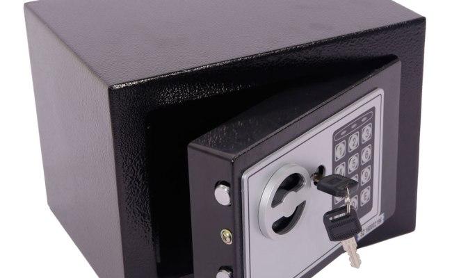 Hot Small Black Security Steel Digital Electronic Lock
