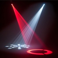 50W LED Moving Head Stage Lighting 8 Rotary Pattern Effect ...
