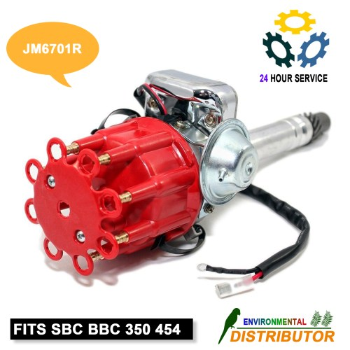 small resolution of distributor ready to run w coil for hei chevy v8 sbc bbc 350 454 small big block