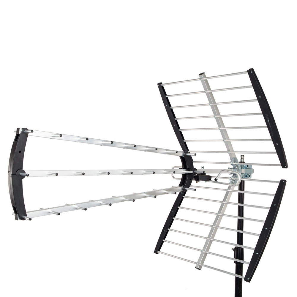 Leadzm 150 Miles Outdoor Amplified HD TV Antenna High Gain