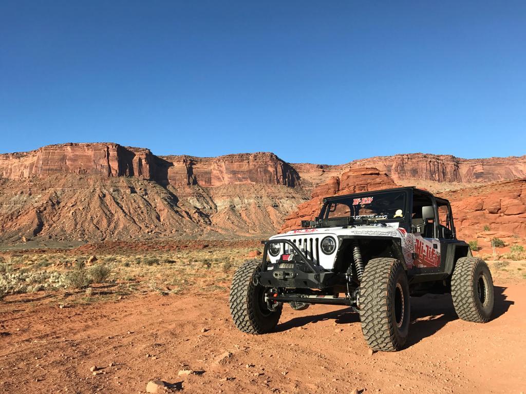 Moab Utah Hi-Lift Jacks Jeep