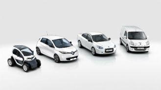 Os carros da gama Renault Z.E estão no mercado