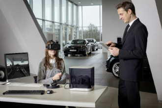 Audi usa realidade virtual