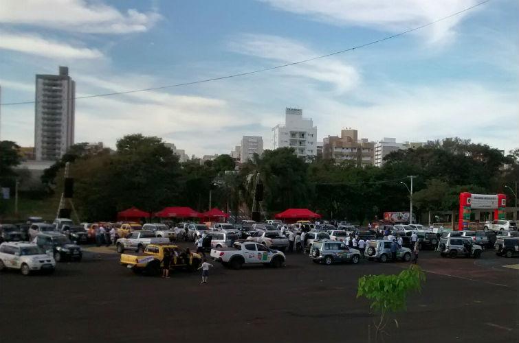 Rali Mitsubishi em São José do Rio Preto