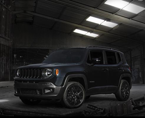 2016 Jeep® Renegade 'Dawn of Justice' Special Edition.