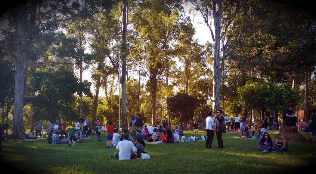 Jardim Cultural sai da praça Braile e vai para a praça Cacilda Becker. Foto: Hi-Mundim