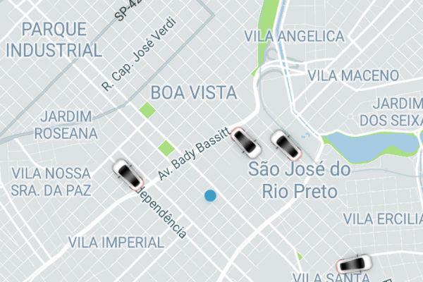 Uber em Rio Preto: saiba como funciona e confira os preços