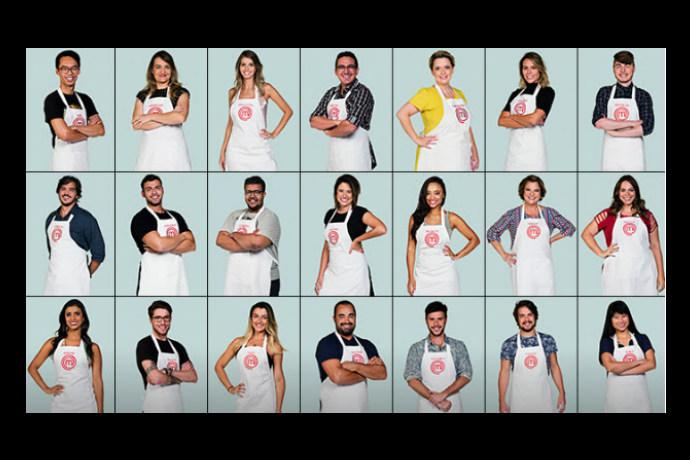 Os 21 selecionados para o MasterChef Brasil (Foto: Divulgação/Band)