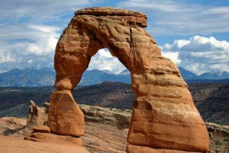 Parque Nacional dos Arcos, em Utah, nos EUA, foi cenário da série Westworld (Foto: Wikimedia)
