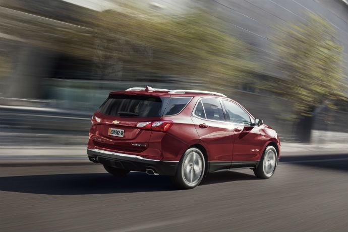 Chevrolet Equinox chega com tecnologia