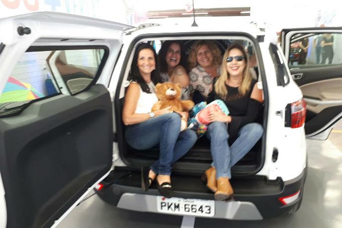 Ford reuniu grupo de mulheres no EcoSport Experience