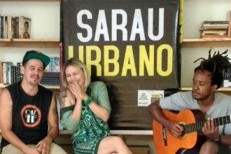 Ricka, Luciana e Bruno são os idealizadores do Sarau Urbano (Foto: Hi-Mundim)