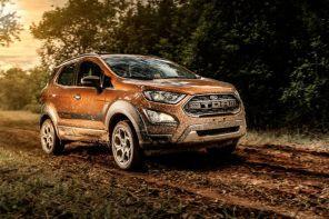 Ford EcoSport Storm traz tração 4WD e câmbio automático