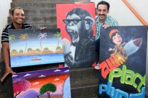 Exposição faz homenagem a canções de Raul Seixas