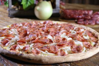 Pizza Pompeia, da Bella Capri, está na ação