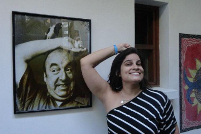 La Chascona, uma das casas de Pablo Neruda no Chile (Foto: Hi-Mundim)