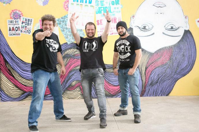 Nasal Rock Trio está de volta (Fotos: Ricardo Boni)