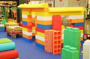 Mundo dos Blocos e test-drive infantil em RP