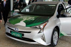 Híbrido flex da Toyota será produzido no Brasil