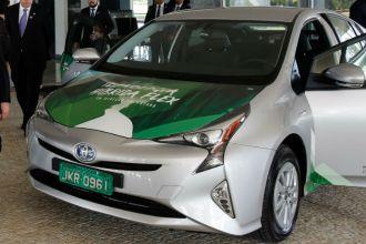 Híbrido flex da Toyota no Palácio do Planalto (Foto: Divulgação/EBC)