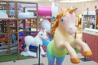 """Riopreto Shopping recebe atração """"Unicórnios"""" (Fotos: Ricardo Boni)"""
