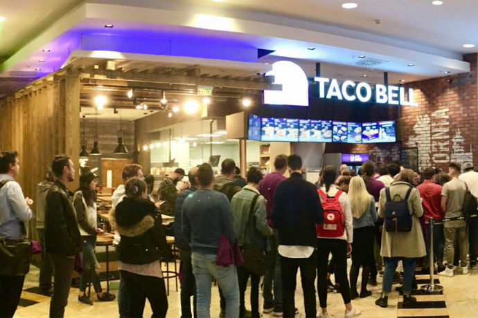 Taco Bell pretende abrir centenas de restaurantes no Brasil