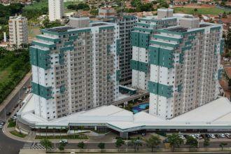 Vista geral do Enjoy Olímpia Park Resort