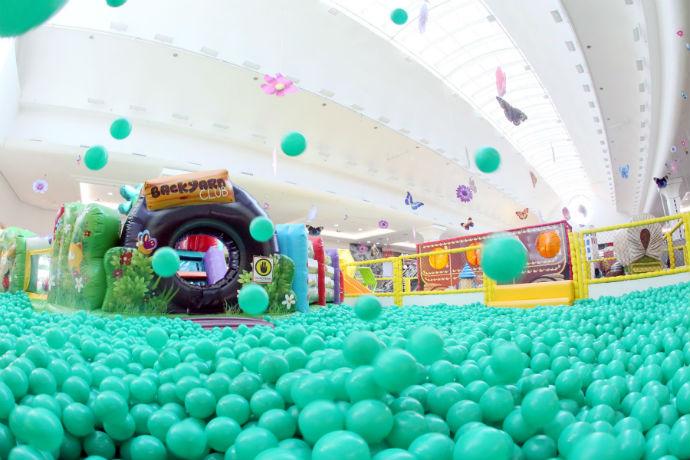 Atrações para crianças no Riopreto Shopping (Foto: Divulgação)
