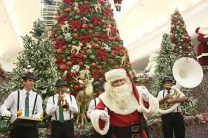 Riopreto Shopping abre temporada de Natal