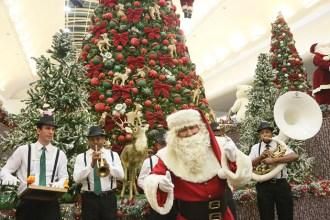 Papai Noel já chegou no Riopreto Shopping (Fotos: Ricardo Boni)