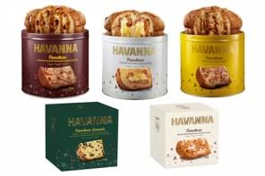 Havanna apresenta cinco opções de panetones