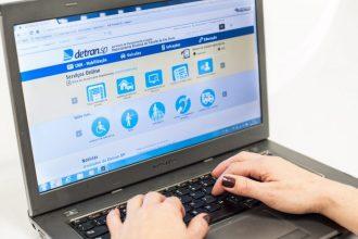 Detran SP disponibiliza serviços online
