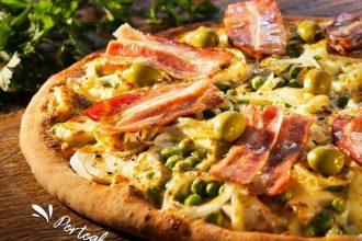 Portoghese Speciale, da pizzaria Bella Capri