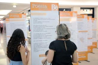 Mostra Poesia na Cidade (Foto: Ricardo Boni)