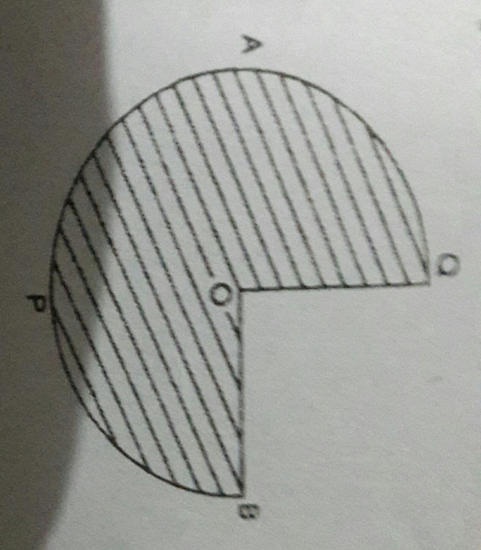 In Figure Apb And Aqp Are Semicircles And Ao Ob If The
