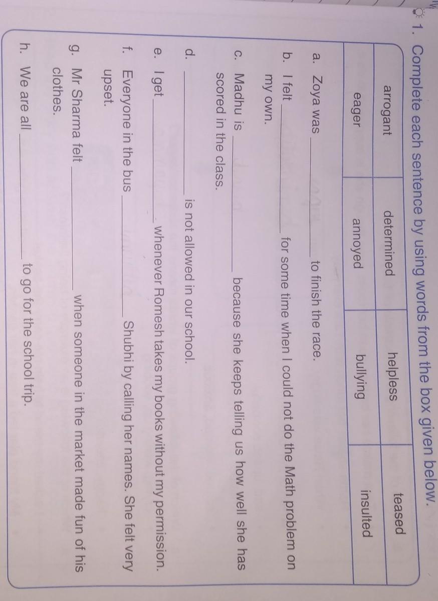 medium resolution of pls tell me fast worksheet-5 grade-6 - Brainly.in