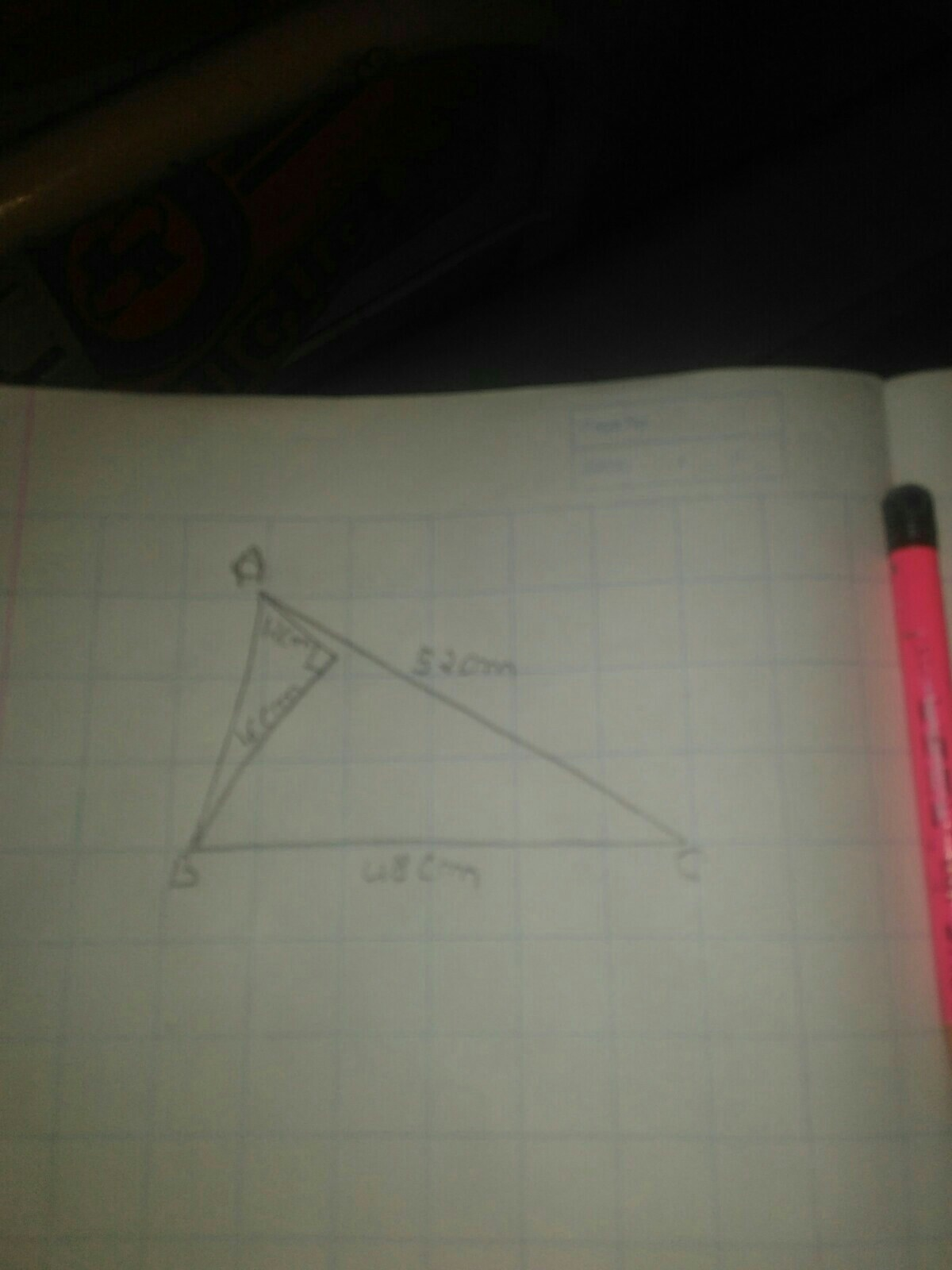 Find The Area Of The Shaded Region In The Figure Given