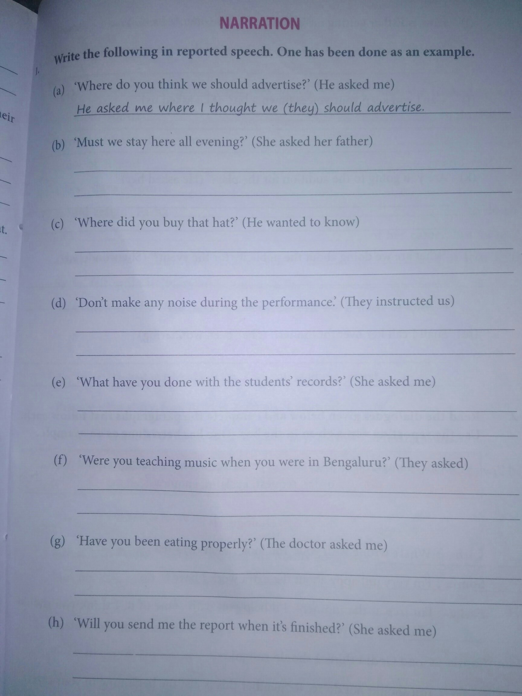 Hi Guyspls Give Me The Unsolved Worksheet Or Exercise Of