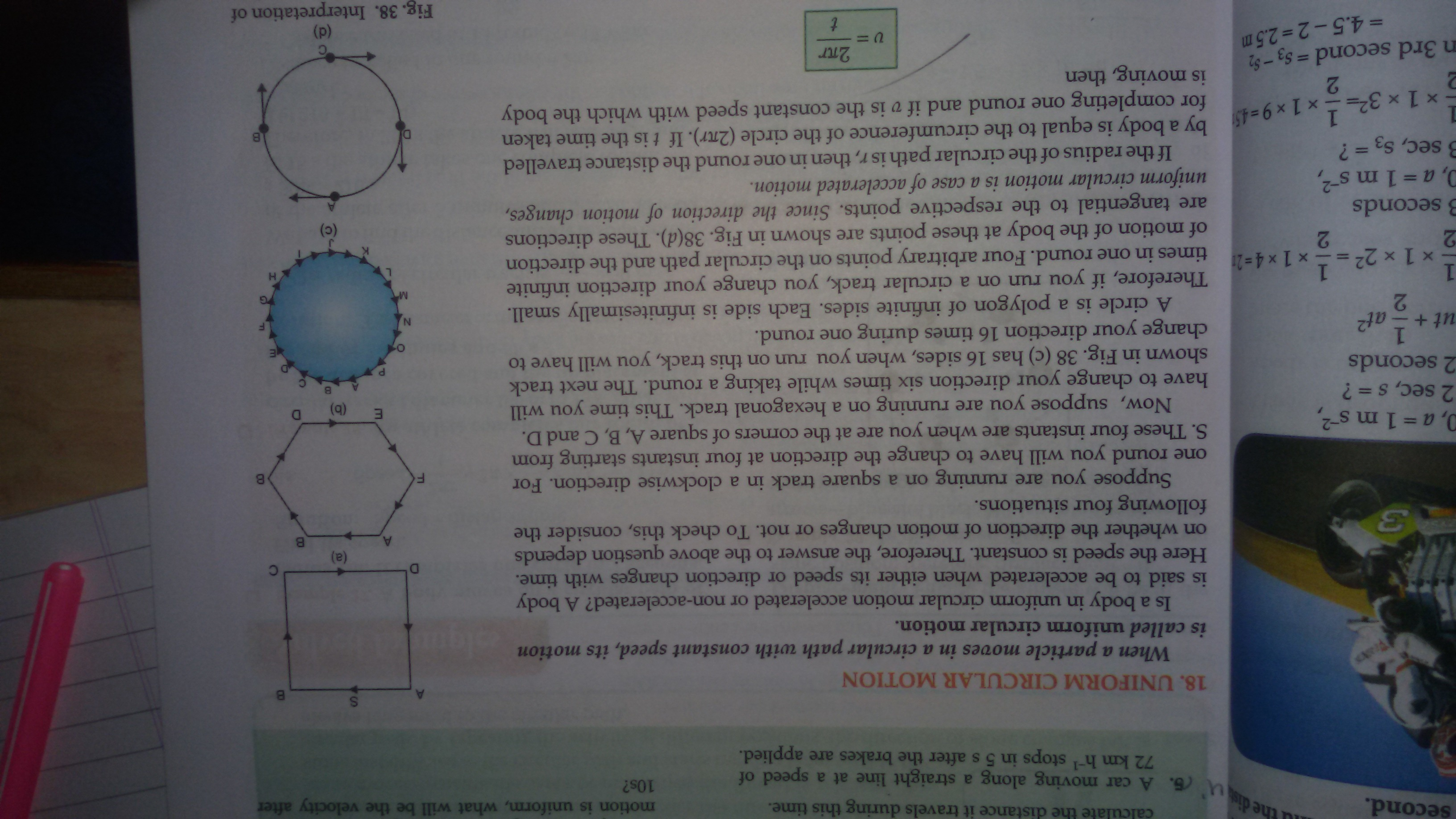 Define Uniform Circular Motion And Give Example Of It Why