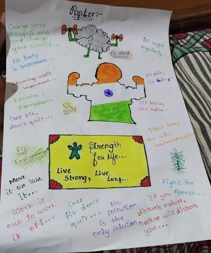 30 Top For Brainly Poster On Fit Body Fit Mind Fit Environment Drawing Haziqbob