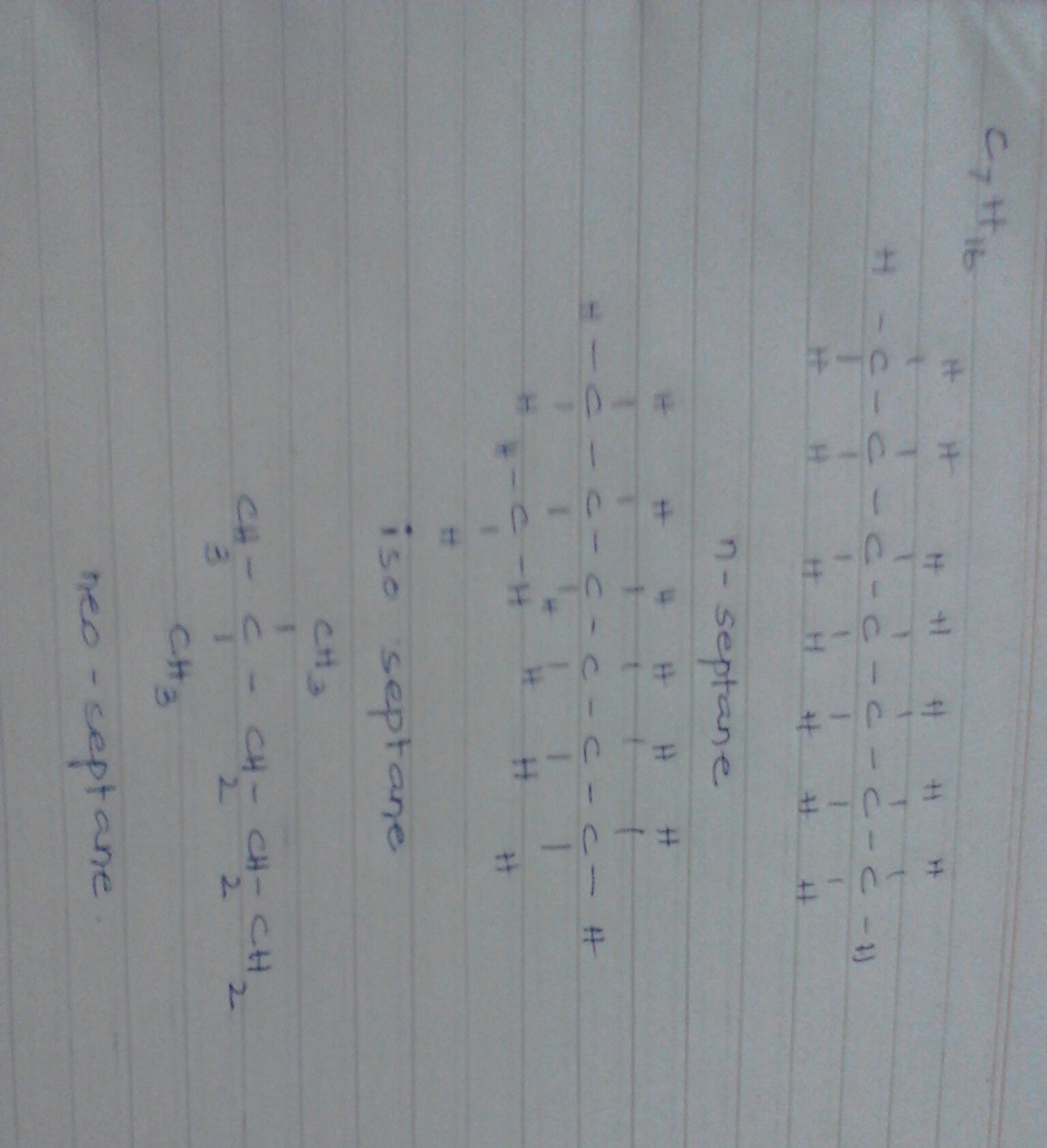 Write The Structural Formula Of All The Isomers Of An