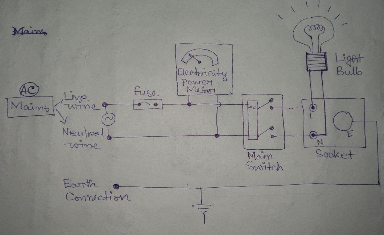 Light Socket Wiring Diagram Free Download Schematic Furthermore